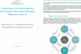 Triple-A Report on Communication and Dissemination Strategy